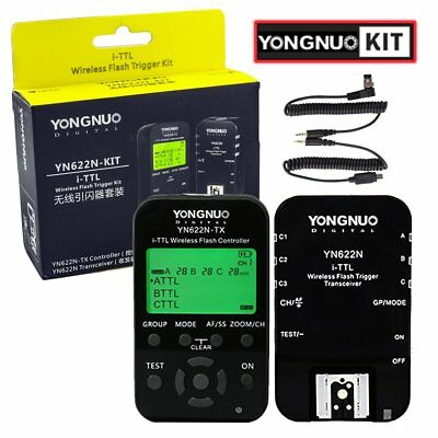Yongnuo YN-622N YN622N-TX Kit Wireless Flash Trigger Transceiver Controller AU