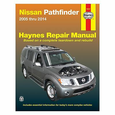 SHOP MANUAL PATHFINDER Service Repair Nissan Book Haynes Chilton