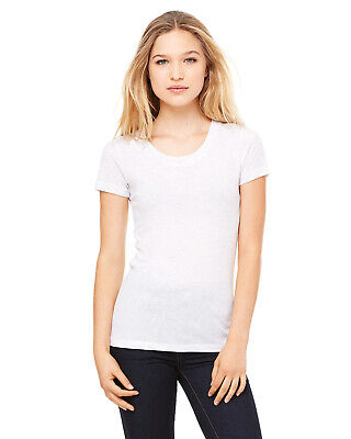 7fc6aedf BELLA + CANVAS Womens Triblend Short Sleeve Tee Shirt Top up to 2XL ...