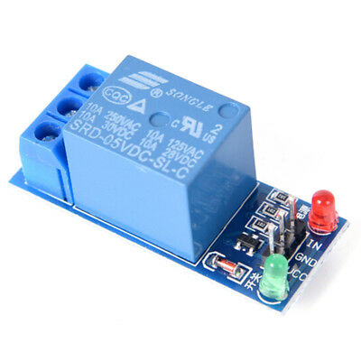 5V 1 Channel Relay Board Module Optocoupler LED For Arduino PIC ARM AVR QE