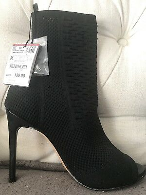 Zara Ankle Boots Brand New With Tags