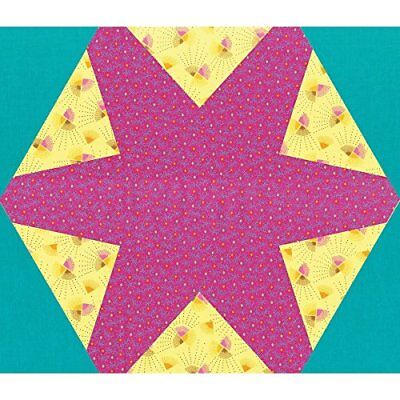 Ellison Europe Sizzix hexagonal Star montado por Vic FW Bigz Plus morir, ABS ...