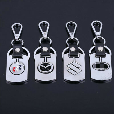 Car Auto Logo Fashion Titanium Key Chain Keychain Ring Keyfob New Metal Keyrings