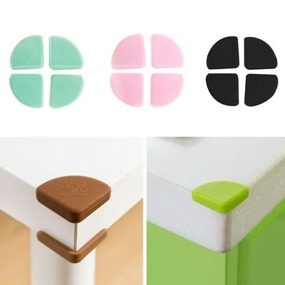 Baby Edge Cushions Silicone Table Desk Corner Protector Furniture Bumper 4pcs