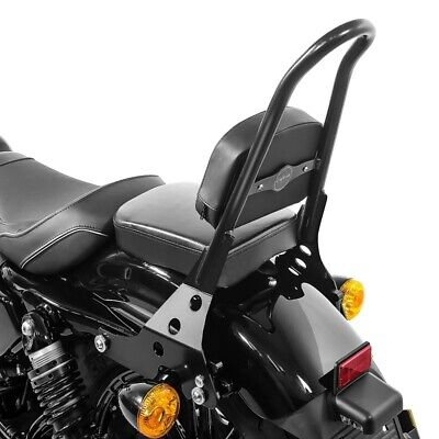 Porte bagage pour Harley Sportster Forty-Eight 48 10-19 Noir