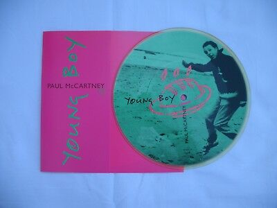 "PAUL McCARTNEY - "" YOUNG BOY ""  Picture Single - Printed in UK"