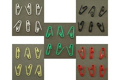 Selection of Multi Purpose Plastic Safety Pins - Aussie Stock