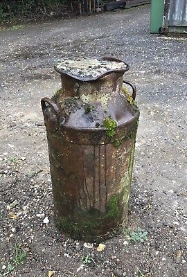 Vintage Old Cast Iron Milk Churn