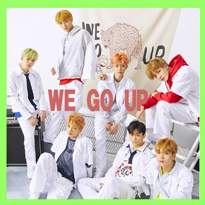 Nct Dream 2Nd Mini Album [ We Go Up ] Cd+Photo Card+Crew Card