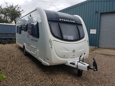 Sterling Eccles 580 Quartz Sr 2012 With Movers And New Awning Unused All Pots