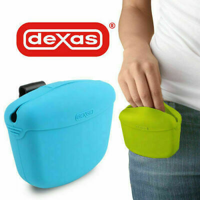 Dexas Popware Pooch Pouch Dog Puppy Training Treat Bag Obedience Clip On Holder