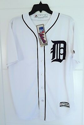 MAJESTIC DETROIT TIGERS MLB AUTHENTIC COOL BASE Official Baseball Jersey Shirt M