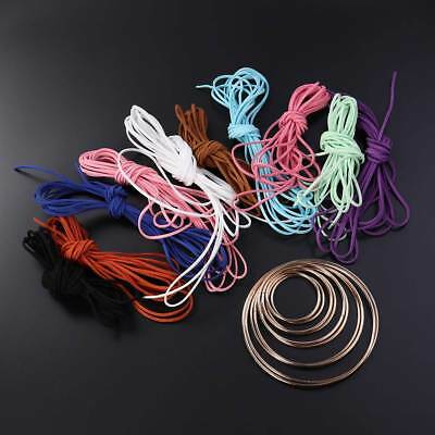 20 Pcs Smooth Sturdy Durable Metal Hoops Macrame Ring for Dream Catcher Projects