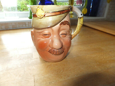 Collectable vintage Beswick Toby Jug of Colonel 735