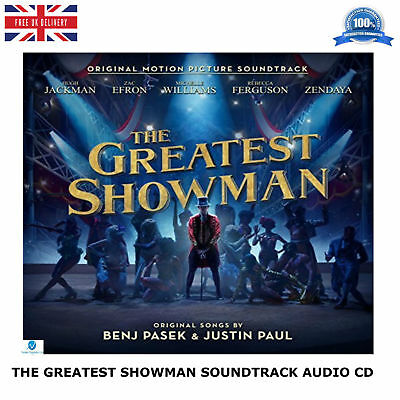 The Greatest Showman 2017 Original Motion Picture Soundtrack New Music Audio CD