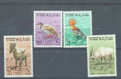 Oman 1982 Birds and Animals only sg.267-70 the 4 values MNH