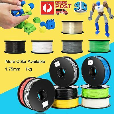 AU 3D Printer Printing Filament ABS PLA 1.75mm 1KG AUS Stock Hot Colour Modeling