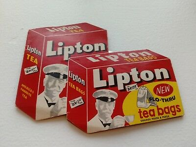 Vintage LIPTON ICE TEA Sewing Notion Needle Book Advertising Collectible