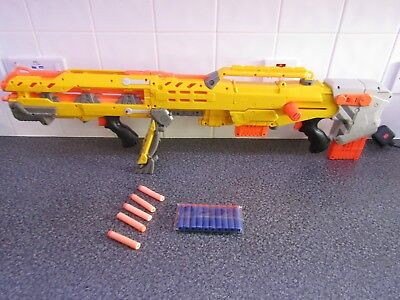 Nerf N-Strike Elite Long Shot CS 6 With Front Extension + 2 clips & 17 darts