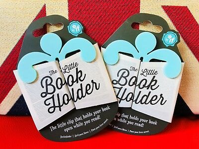 The Little Book Holder - Mint - Holds your Book Open. *NEW* Reading, Study, Gift