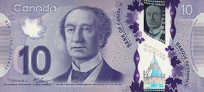 CANADA $10 / POLYMER 2013 / Unc condition. Real Beauty!