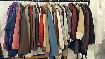 Clearance! Job Lot Of 50 Ladies Coats Various Brands, Sizes, Styles (3)