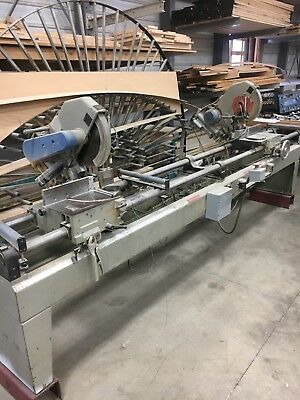 OMGA TR2C double Mitre Saw