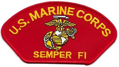 """10 US MARINE CORPS  SEMPER FI (R) Embroidered Patches 2.75""""x5.25"""""""