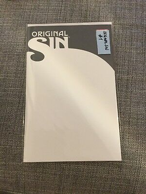 Marvel Original Sin #1 BLANK VARIANT unopened comic book Avengers