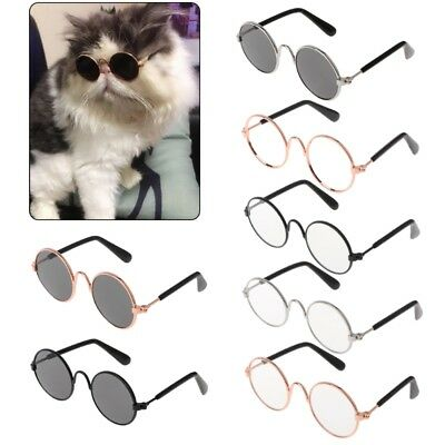 Pet Glasses Costume Sunglasses Round Funny Fashion Props Dog Cat Supply Products