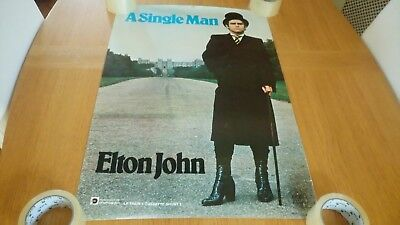 Elton John - A Single Man ORIGINAL Promotional Poster