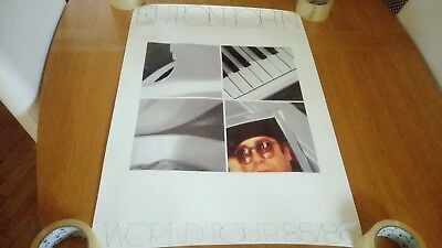Elton John - World Tour 85/86 ORIGINAL Promotional Poster