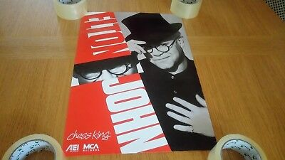 Elton John - Chess King King ORIGINAL Promotional MCA Poster