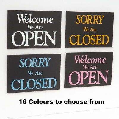 open & closed shop window sign new all fittings OPEN/CLOSED SHOP SIGN NEW