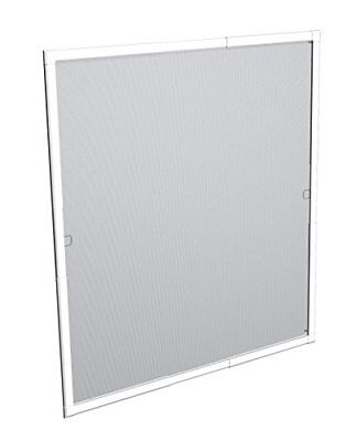 Windhager 03629 Marco ventana Flexi Fit 100 x 120 W, color blanco, 100 x 120 cm
