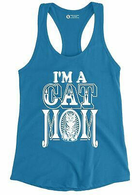 I Am A Cat Mom Tank Top Crazy Cat Lady Furry Mother Kitty Kitten Animal Love Tee