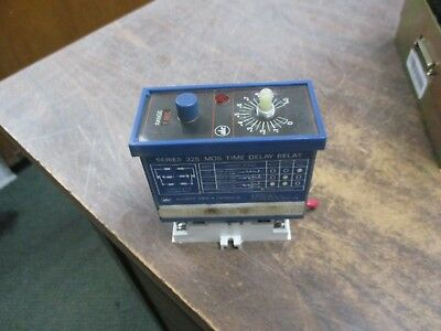ATC MOS Time Delay Relay 328A200Q10XX 120V Control 5A 1/6HP 125-250 VAC, Used