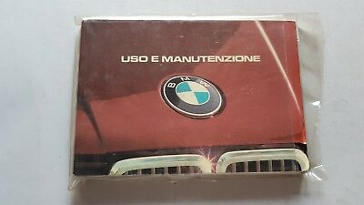 BMW 316 318i 320i 323i 1985 Manuale uso originale owner's repair manual