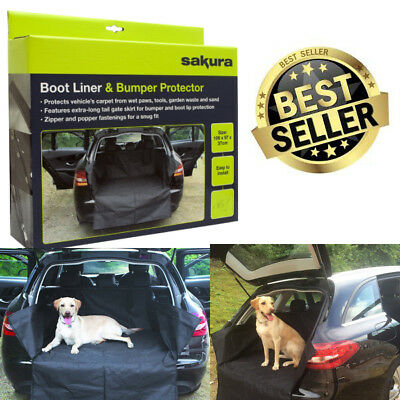 UKB4C Heavy Duty Water Resistant Car Boot Liner Mat Bumper Protector for Focus All Years