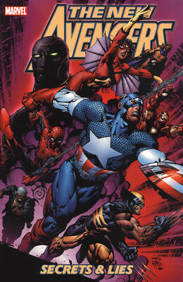 The New Avengers Secrets And Lies Marvel Graphic Book 2006