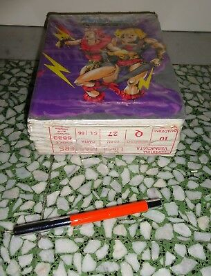 MASTERS OF THE UNIVERSE MOTU MATTEL  Lot 10 PZ  NOTEBOOK QUADERNI School 80'S