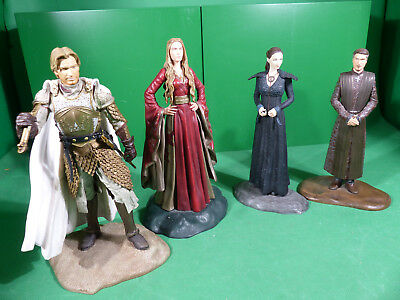 4x HBO 2014 Game of Thrones Action Figures Lot - 20cm Höhe