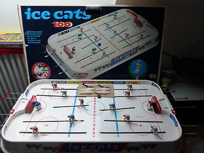 1970's Bock Plast Finnlad Icehockey Game - Ice Cats 100 in Box