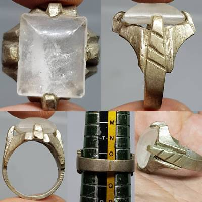 Crystal Stone Ancient wonderful Stone Stunning Ring  # 3A