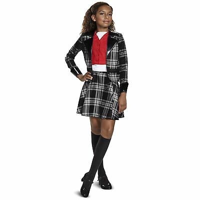 Teen Girl Child Dionne Clueless Black Plaid Skirt Jacket Halloween Costume M-XL