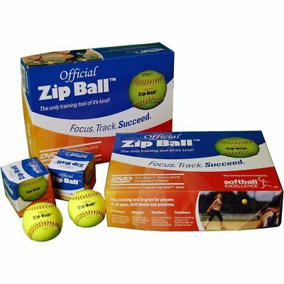Softball Excellence Zip Ball Training Aid Kit - (12 Balls)