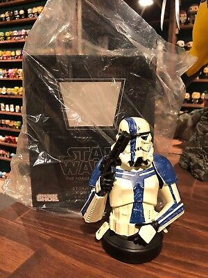 Gentle Giant Star Wars Force Unleashed Stormtrooper MiniBust