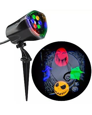 Disney Halloween Nightmare Before Christmas Haunted Holiday  Projection Light