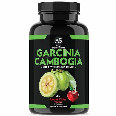Angry Supplements Garcinia Cambogia wth Apple Cider Vinegar Weight Loss