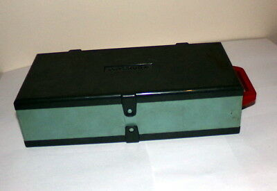Paterson 35mm Slide Storage 100 Slide Case Green Vintage 60s Box Stackable
